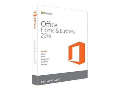 Microsoft Office Home and Business 2016 - PKC - englisch