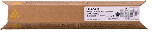 Ricoh Toner gelb MP C2551HE 9.5K