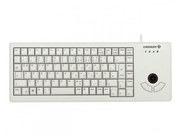 CHERRY Kabel XS Trackball Keyboard G84-5400LUMDE-0 DE hellgrau