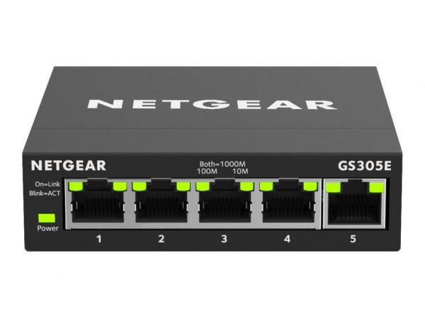 NETGEAR GS305E - Switch - Smart Managed Plus