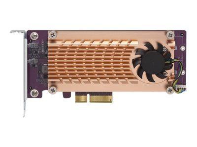 QNAP z QM2-2P-244A - Speicher-Controller M.2 NVMe SSD