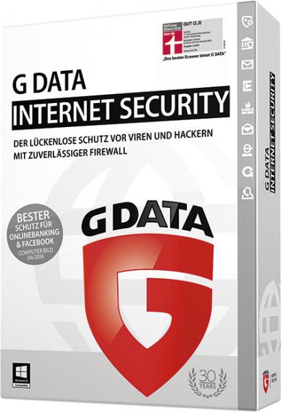 G DATA InternetSecurity - 1 PC - ESD - (1 Jahr) - Erneuerung