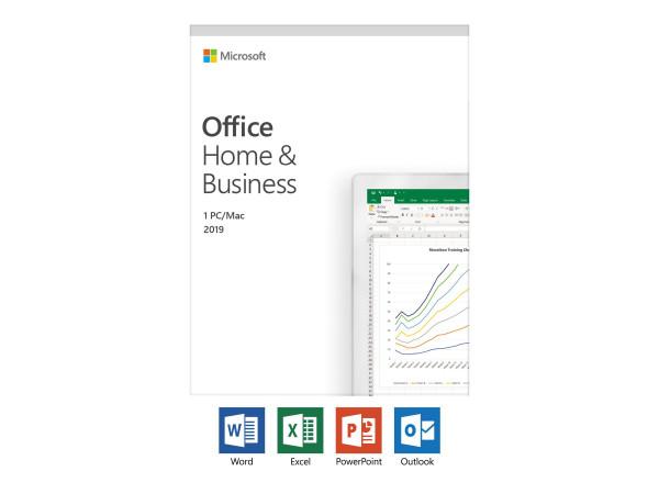 Microsoft Office 2019 Home & Business - 1 PC - Deutsch
