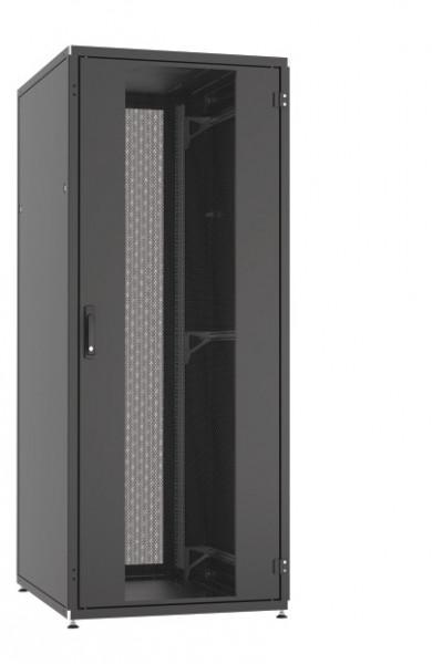 Serverschrank-PRO 42HE H1963 x B800 x T1000 Front/Rücltür Stahltür einteilig RAL 9005