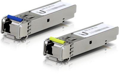 UbiQuiti UF-SM-1G-S SFP (Mini-GBIC)-Transceiver-Modul (20er Pack)