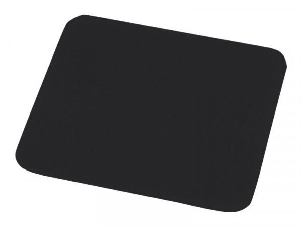 Mouse z Mauspad einfarbig schwarz