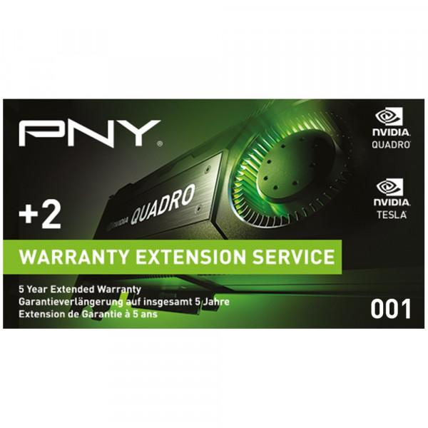 PNY Quadro Garantieverlängerung WEVCPACK001