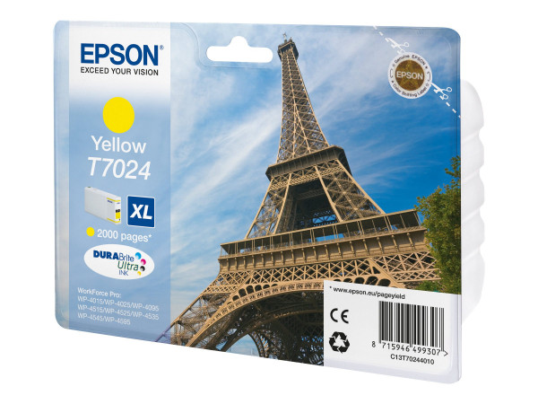 Epson T7024 XL Tinte Gelb
