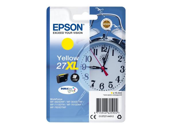Epson 27XL Tinte Gelb 10,4 ml
