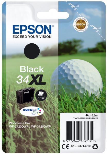 Epson 34XL Schwarz - 16.3 ml