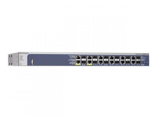 NETGEAR ProSafe GSM7212F - Switch - L2+