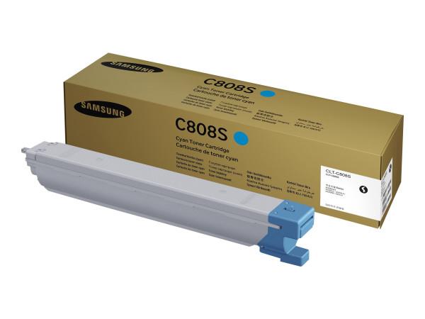 Samsung CLT-C808S/ELS Toner cyan 20.000 Seiten