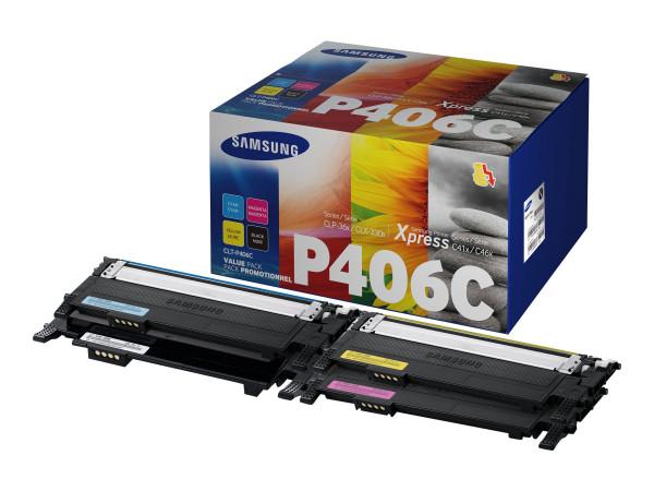 Samsung CLT-P406C Rainbow Kit 1.000 Seiten