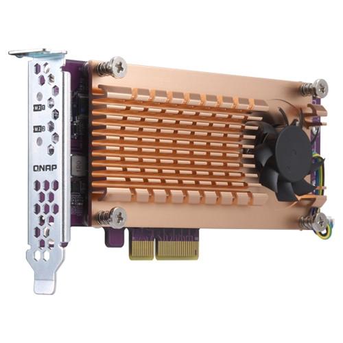 QNAP z QM2-2P-344 Speicher-Controller M.2 NVMe SSD