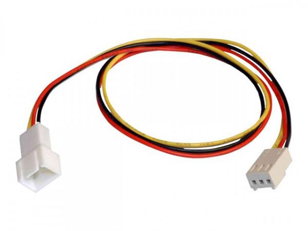 Kabel Lüfterverlängerung Molexst.3pol.300mm