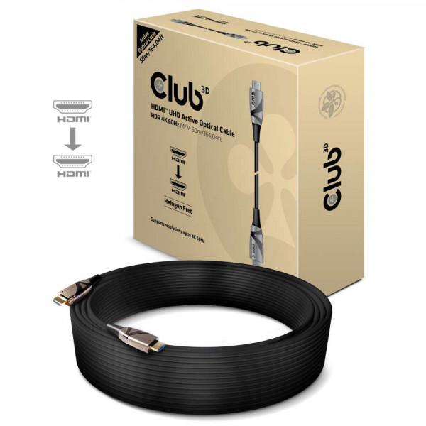 Club 3D HDMI 2.0 4K60Hz UHD RedMere Kabel 50m - Kabel