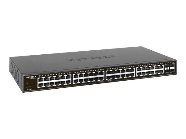 NETGEAR GS348T - Switch - Smart Managed Pro