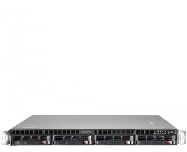 Gehäuse Supermicro SC815TQ-R700WB 1HE black redundante Stromversorgung