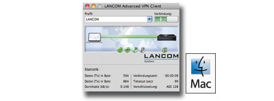 LANCOM Advanced VPN Client Lizenz MAC