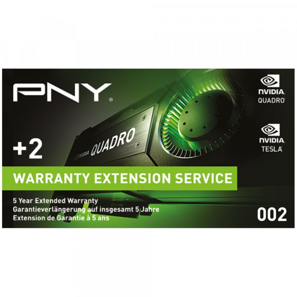 PNY Quadro Garantieverlängerung WEVCPACK002