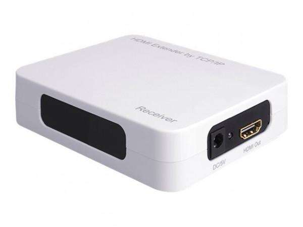 HDMI Extender by TCP/IP - Delock (nur Einzelempfänger)