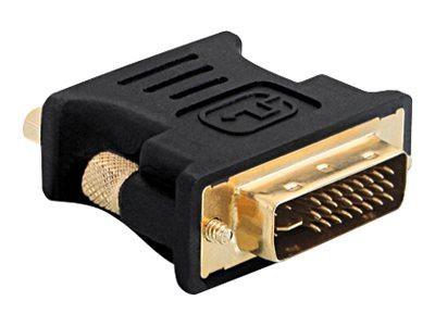 Adapter DVI 24+5 Stecker auf VGA Buchse