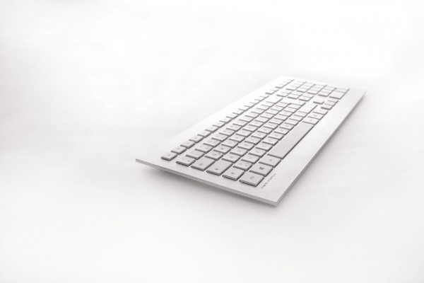 CHERRY STRAIT 3.0 Corded Keyboard JK-0350CH CH weiß/silber