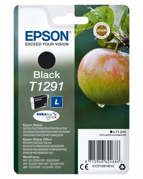 Epson T1291 Tinte Schwarz 11,2 ml