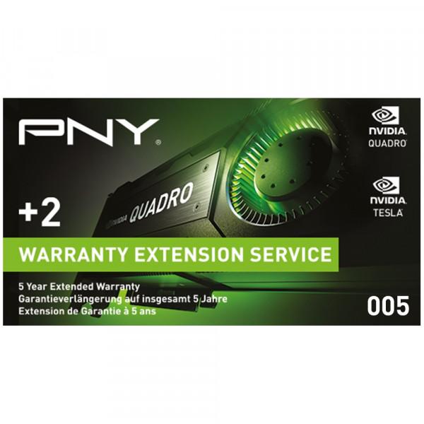 PNY Quadro Garantieverlängerung WEVCPACK005