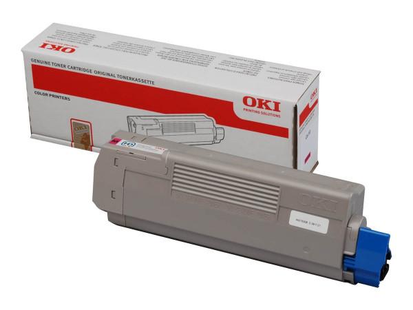 OKI Toner Magenta für C610 Serie