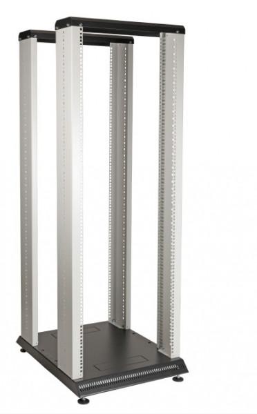 19``-Rack Duplex-Rahmen 42HE B 550 H 1985 T 710 ( mm )