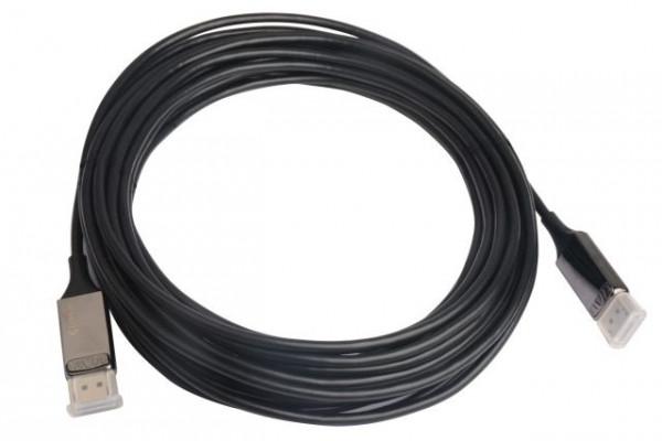 Monitorkabel DP -> DP S/S 30,0m schwarz (AOC Hybrid Kabel 8K)