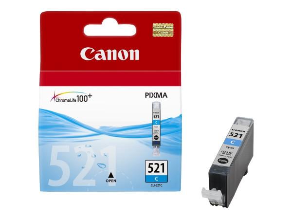 Canon CLI-521C Tinte Cyan