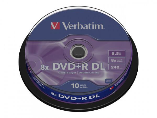 Verbatim - 10er Spindel DVD+R DoubleLayer