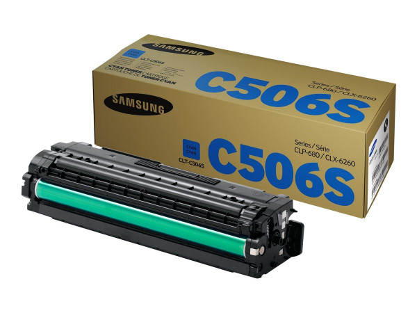 Samsung CLT-C506S Toner Cyan