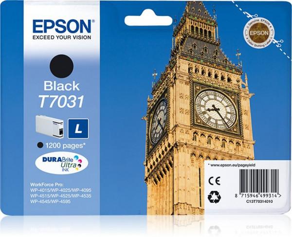 Epson T7031 Tinte Schwarz 24 ml