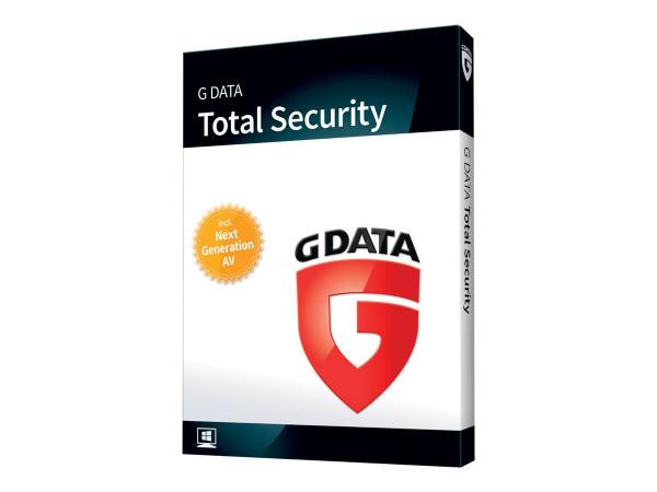 G DATA TotalSecurity - 3PCs - ESD - ( 1 Jahr )
