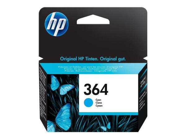 HP 364 Tinte Cyan