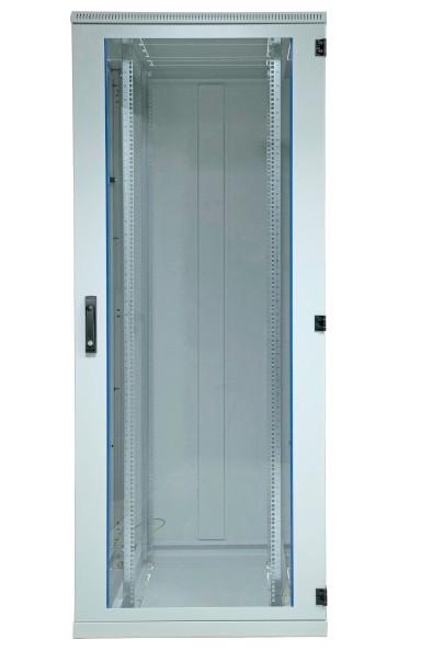 Netzwerkschrank 15HE, H780 x B600 x T800, RAL7035