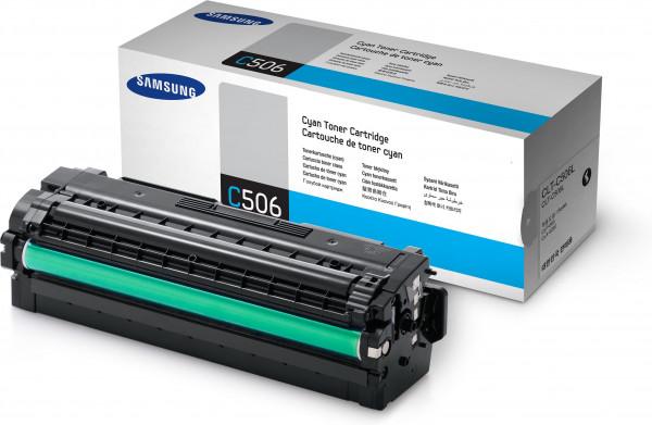 Samsung CLT-C506L/ELS Toner cyan 3.500 Seiten
