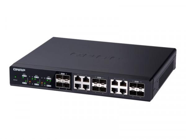 QNAP QSW-1208-8C - Switch - nicht verwaltet