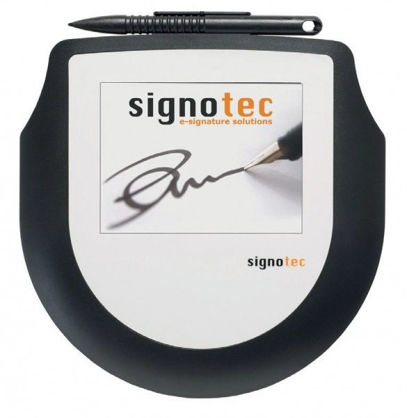 Signotec Pad Omega - Unterschriften-Terminal mit Farbdisplay