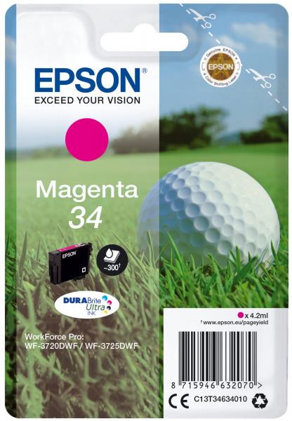 Epson 34 Tinte Magenta 4.2 ml