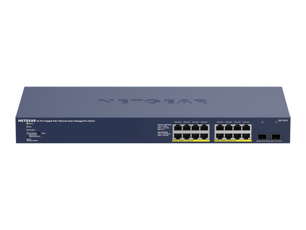 NETGEAR GS716TP - Switch 2x SFP (16x PoE+ 180W)