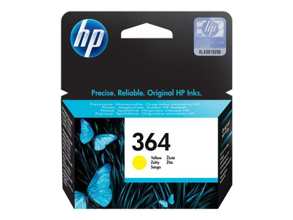 HP 364 Tinte Gelb