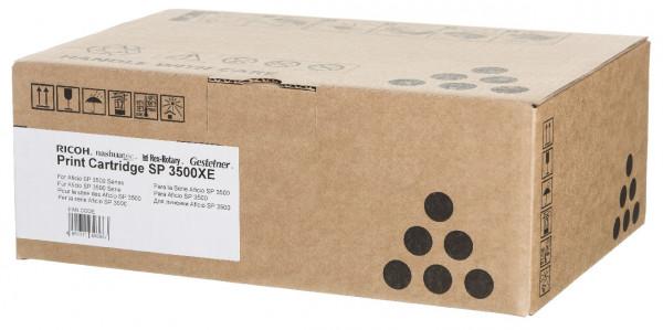Ricoh Toner/OPC AIO Unit Schwarz SP3500XE 6,4K