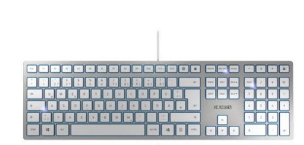 CHERRY KC 6000 SLIM FR Silber