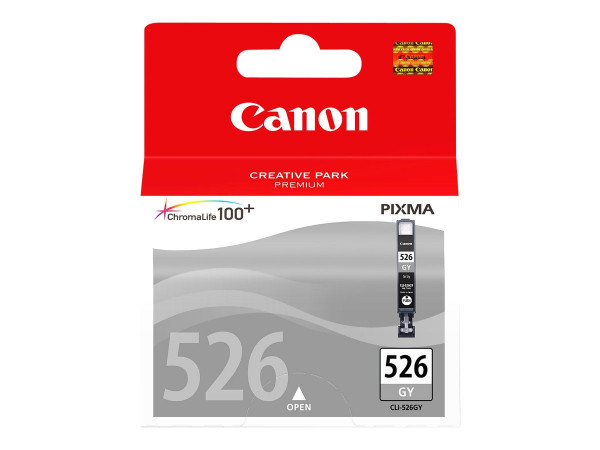 Canon CLI-526GY Tinte Grau