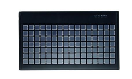 Active Key Keyboard AK-100/112 Frei belegbare 112 Tasten Matrix-Tastatur mit internem Speicher USB
