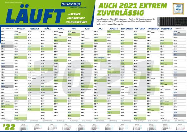 Wandkalender Format A1 - 2020